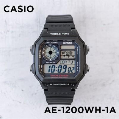 10年保証 CASIO カシオ スタンダード AE-1200WH-1A 腕時計 メンズ レディース キッズ 子供 男の子 女の子 チープカシオ チプカシ デジタル 日付 防