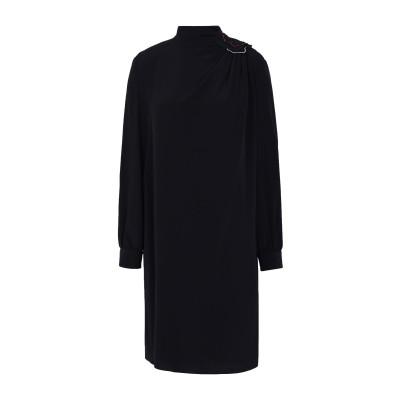 エンポリオ アルマーニ EMPORIO ARMANI ミニワンピース&ドレス ブラック 40 100% シルク ミニワンピース&ドレス