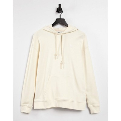 アディダス adidas Originals レディース パーカー スウェット トップス adicolor no dye logo sweatshirt ベージュ