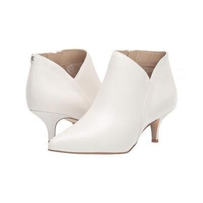 Sam Edelman サムエデルマン レディース 女性用 シューズ 靴 ブーツ アンクルブーツ ショート Kadison - Bright White Nappa Verona Leather