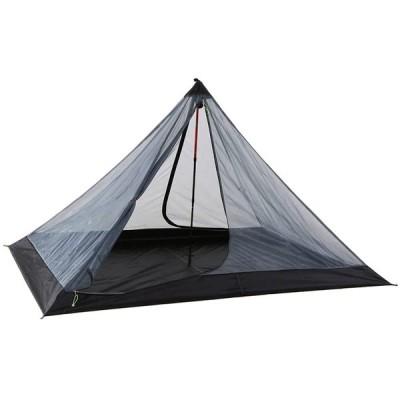90 * 59 * 51インチキャンプ昆虫忌避剤ネットテント、屋外超軽量メッシュテント、ガード1-2人ポータブル折りたたみ式クライミングハイキングテン