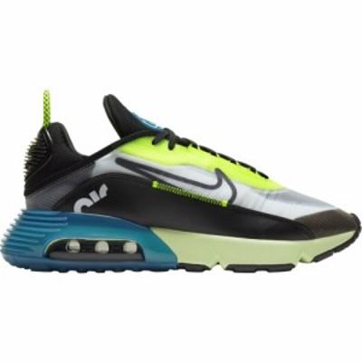 ナイキ メンズ エアマックス2090 Nike Air Max 2090 スニーカー White/Black/Volt/Valerian Blue