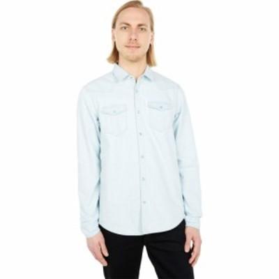 スコッチandソーダ Scotch and Soda メンズ シャツ ウエスタンシャツ トップス Regular Fit - Organic Cotton Classic Western Shirt Ble