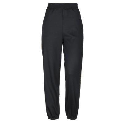 モスキーノ MOSCHINO パンツ ブラック 40 ポリエステル 55% / コットン 45% パンツ