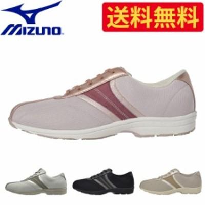 ミズノ mizuno レディース ウォーキング シューズ B1GF1831 LS801 | 女性 女性用 オフィス カジュアル フォーマル  靴 痛くない 履きや
