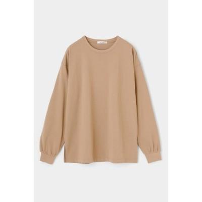 COTTON C/N LONG SLEEVE Tシャツ