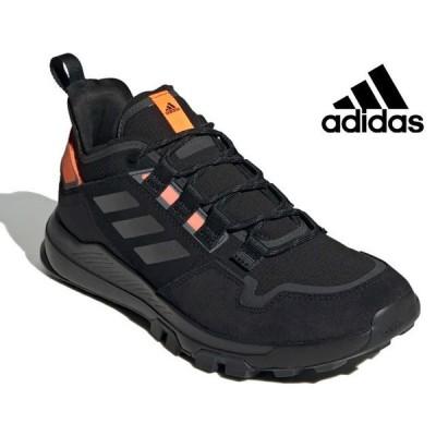 アディダス adidas EH3534 TERREX HIKSTER スニーカー トレッキングシューズ ハイキングシューズ メンズ 紳士 ブラック/グレー/オレンジ 靴