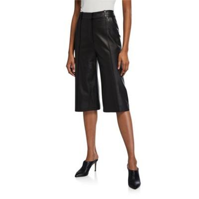 ヴェロニカ ベアード レディース カジュアルパンツ ボトムス Arnold Leather Culottes