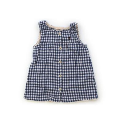 ミキハウス mikiHOUSE ワンピース 80サイズ 女の子 子供服 ベビー服 キッズ