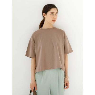 ショート丈半袖ビックTシャツ