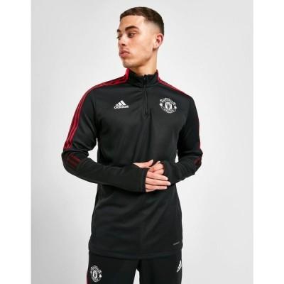アディダス adidas メンズ フィットネス・トレーニング トップス Adidas Manchester United Fc Training Top black