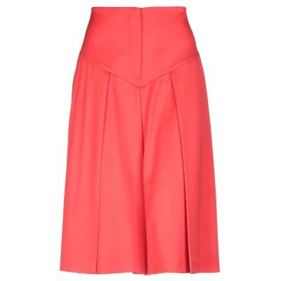 ALTEЯƎGO ひざ丈スカート レッド 42 ウール 89% / ナイロン 9% / ポリウレタン 2% ひざ丈スカート