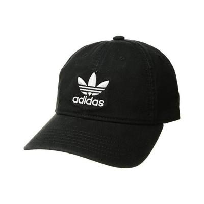 アディダス オリジナルス Originals Relaxed Strapback Cap レディース 帽子 Black/White 1