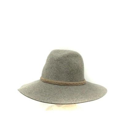 【中古】ラグ&ボーン RAG&BONE 中折れ帽 ハット ワイドブリム フェルト グレー /AK17 レディース 【ベクトル 古着】