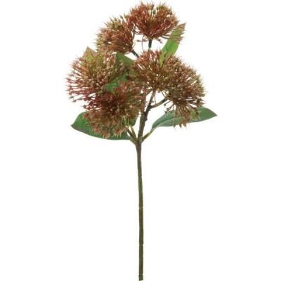 ワイルドフラワースプレー オレンジグリーン 8本セット FA-7213 2020ds | アレンジメント アートフラワー 花資材 造花 ワイルドフラワー ネイティブフラワー