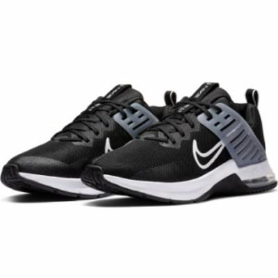 トレーニングシューズ スニーカー メンズ/ナイキ NIKE エア マックス アルファ トレイナー3/スポーツシューズ 黒 ブラック 男性 運動靴