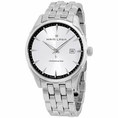 腕時計 ハミルトン メンズ Hamilton Jazzmaster Silver Dial Stainless Steel Men's Watch H32451151