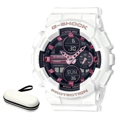 (時計ケース付)カシオ CASIO 腕時計 GMA-S140M-7AJF Gショック G-SHOCK メンズ レディース ミッドサイズ クオーツ 樹脂バンド アナデジ(国内正規品)