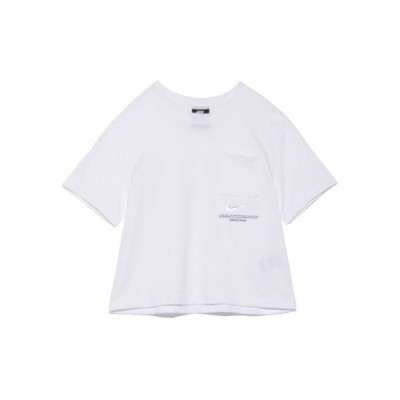 (NIKE/ナイキ)【NIKE】AS W NSW SWSH SS TOP/レディース WHT