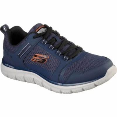 スケッチャーズ Skechers メンズ スニーカー シューズ・靴 Track Knockhill Sneaker Navy/Orange