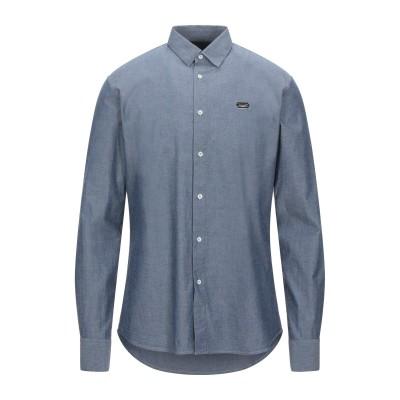 PHILIPP PLEIN シャツ ブルー L コットン 100% シャツ