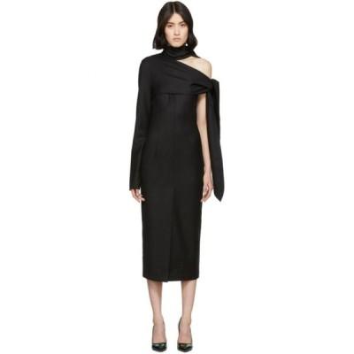 マテリエルティビリシ Materiel Tbilisi レディース ワンピース ワンピース・ドレス Black Open Shoulder Dress Black
