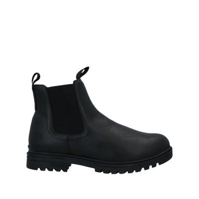 COTTON BELT ショートブーツ ブラック 40 紡績繊維 ショートブーツ