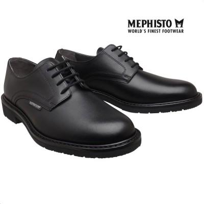 メフィスト 正規品 靴 MEPHISTO MARLON BLACK グッドイヤーウェルト ウォーキングシューズ プレーントゥ メンズ 革靴 紳士靴