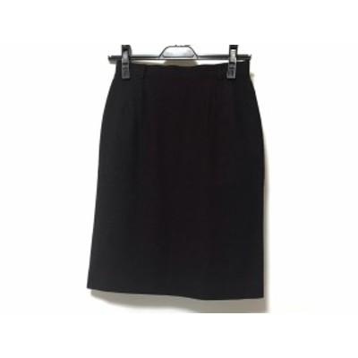 ヨークランド YORKLAND スカート サイズM レディース 美品 ボルドー【中古】20200131