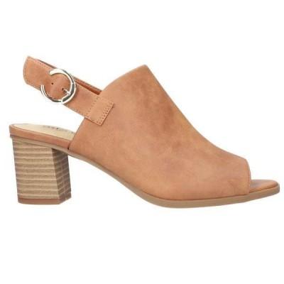 イージーストリート レディース ヒール シューズ Anarose Slingback Block Heel Sandals
