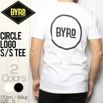 訳あり商品 [クリックポスト対応] BYRD バード CIRCLE LOGO S/S TEE 半袖Tシャツ BWC(S)