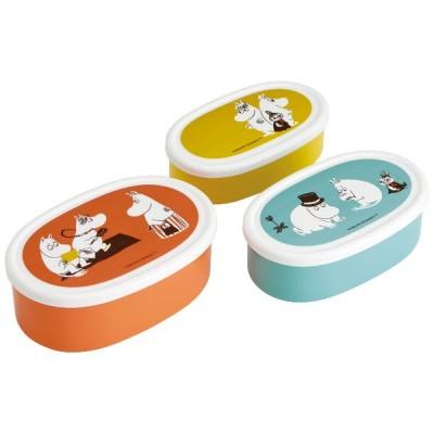 スケーター シール容器3Pセット ムーミン カラー SRS3S 4973307508103