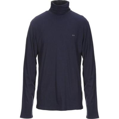 サン シックスティーエイト SUN 68 メンズ Tシャツ トップス T-Shirt Dark blue