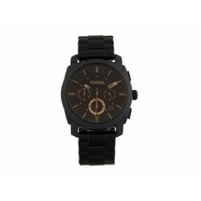 フォッシル メンズ 腕時計 アクセサリー Machine Three-Hand Watch FS4682IE Black
