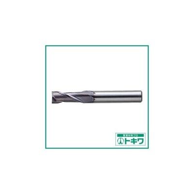 三菱K 2枚刃バイオレット ハイススクエアエンドミルミディアム刃長(M)6mm ( VA2MSD0600 ) 三菱マテリアル(株)