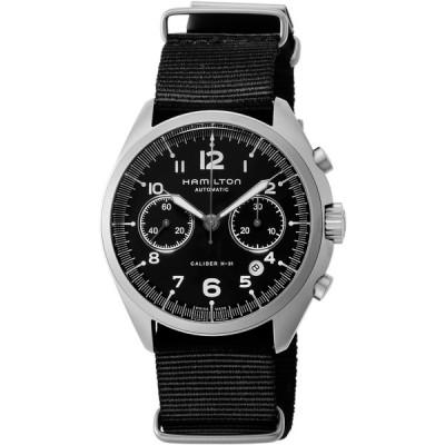 HAMILTON(ハミルトン) H76456435 ブラック カーキ パイロット パイオニア クロノ [自動巻き腕時計 (メンズウォッチ) 【並行輸入品】] 腕時計(海外メーカー)