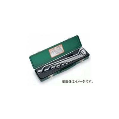トネ/TONE ロングめがねレンチセット(45°) 6点 品番:2600