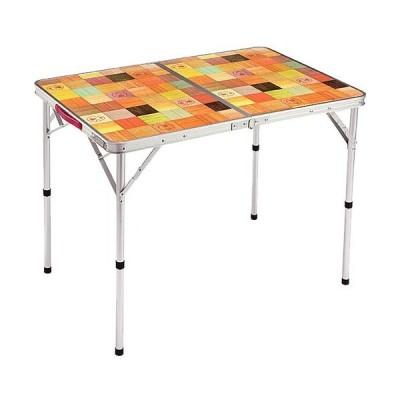 コールマン(Coleman) アウトドア ナチュラルモザイクリビングテーブル/90プラス 2000026752 ローテーブル コンパクト 持ち運び キャンプ バーベキュー 花見