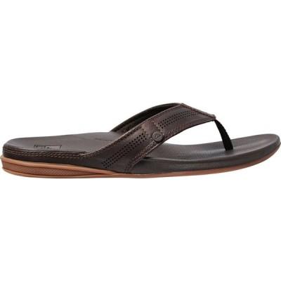 リーフ Reef メンズ ビーチサンダル シューズ・靴 Cushion Bounce Lux Flip Flops Brown