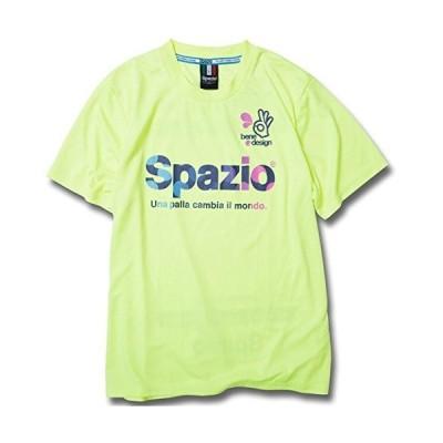 スパッツィオ SPAZIO COLORDOT プラクティスシャツ GE0318 ネオンイエロー O