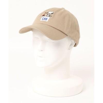 A BAG OF CHIPS / LEE×PEANUTS コットンツイルローキャップ MEN 帽子 > キャップ