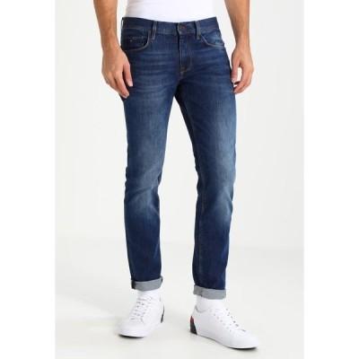 トミー ヒルフィガー デニムパンツ メンズ ボトムス DENTON - Straight leg jeans - new mid stone
