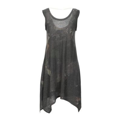 ALTERNATIVE® ミニワンピース&ドレス 鉛色 M ポリエステル 50% / コットン 38% / レーヨン 12% ミニワンピース&ドレス