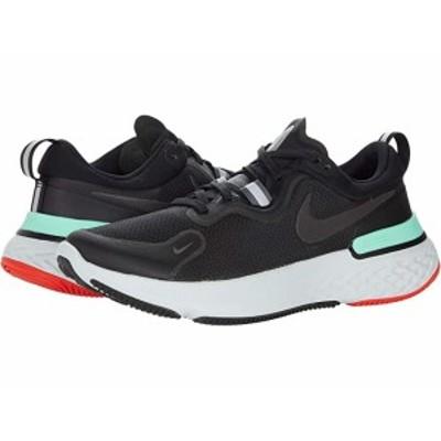 (取寄)ナイキ リアクト ミラー Nike React Miler Black/Black/Iron Grey/Green Glow