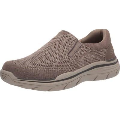 スケッチャーズ SKECHERS メンズ スニーカー シューズ・靴 Relaxed Fit Expected 2.0 - Arago Taupe
