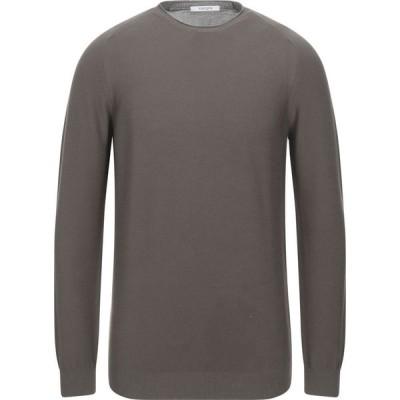 カングラ カシミア KANGRA CASHMERE メンズ ニット・セーター トップス Sweater Military green