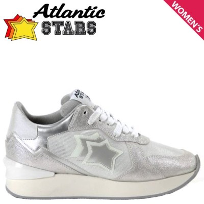 Atlantic STARS アトランティックスターズ アンドロメダ スニーカー レディース 厚底 ANDROMEDA シルバー AG-LGBB 9/9 新入荷