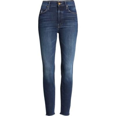 マザー MOTHER レディース ジーンズ・デニム スキニー ボトムス・パンツ The Stunner High Waist Distressed Fray Hem Ankle Skinny Jeans Teaming Up