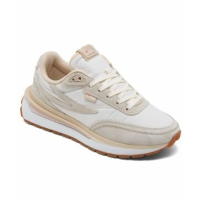 フィラ レディース スニーカー シューズ Women's Renno Casual Sneakers from Finish Line Gardenia