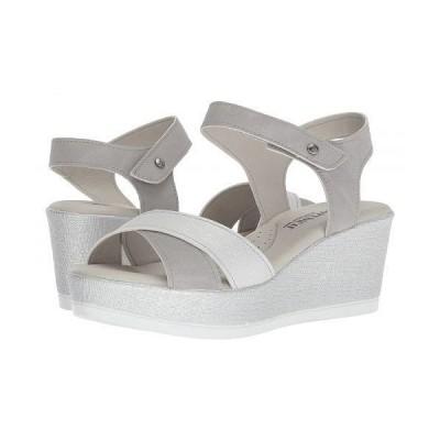 Arcopedico アルコペディコ レディース 女性用 シューズ 靴 ヒール Harley - Grey/White